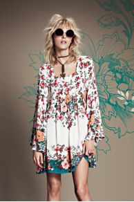 Modern Chinoise Dress at Free People