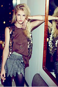 FP X Show Girls Mini Skirt at Free People