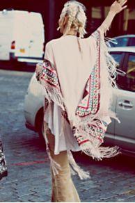 Kirn Fringe Kimono at Free People
