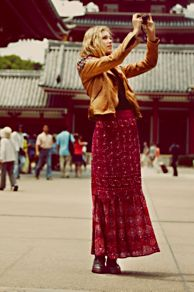 Magic Maxi Skirt at Free People