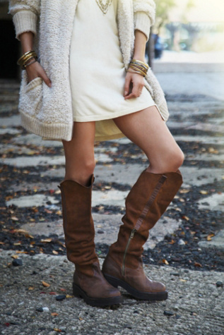 Jeffrey Campbell + Free People Womens Maybell Tall Boot