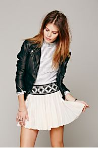 FP ONE Kelisi Embroidered Skirt at Free People