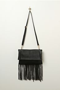Urban Originals Vegan Fringe Crossbody at Free People