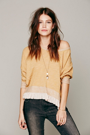 Free People Womens Getta Good Pullover