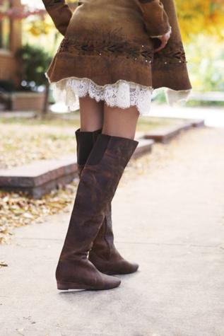 farylrobin + Free People Womens Day To Night Tall Boot
