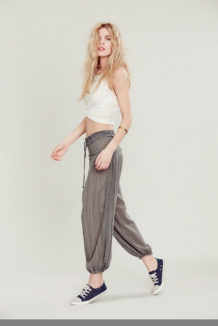 Free People Womens Black Pearl Pants