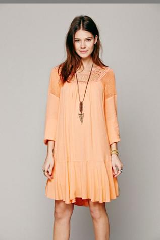 Free People Womens Gardenia Dress