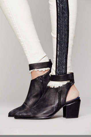 Jeffrey Campbell + Free People Womens Eastwick Ankle Boot