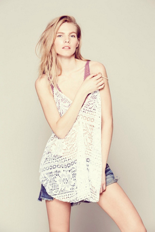 Free People Womens Lakeside Cami