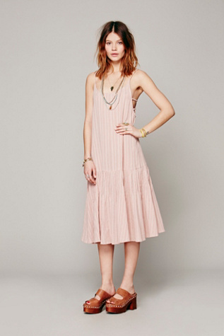 Free People Womens Paradise Valley Dress