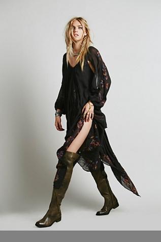 Free People Womens FP New Romantics Riviera Embroidered Dress