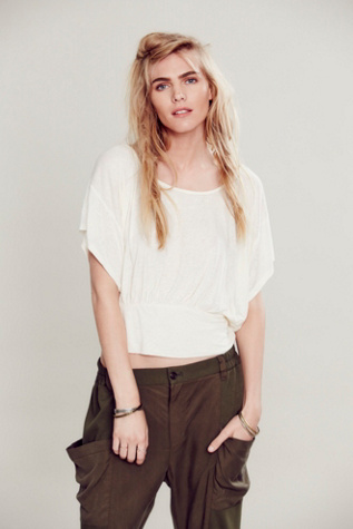 Free People Womens Flutter by Top