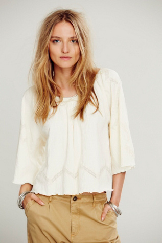 Free People Womens FP New Romantics Stevie Tee