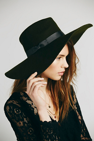 Lack of Colour Womens Montana Wide Brim Hat
