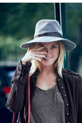Free People Womens Jane Floppy Hat