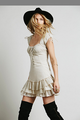 Free People Womens Sweetly Be Dress