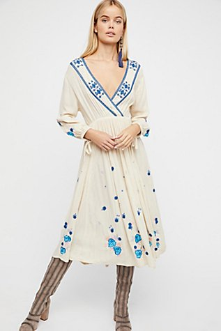 The Enchanted Forest Midi Dress at Free People in Los Angeles, CA | Tuggl