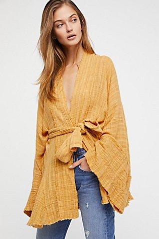 FP One Tie Wrap Kimono | Tuggl