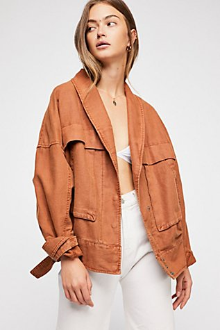 Wildside Utility Jacket at Free People in Los Angeles, CA | Tuggl