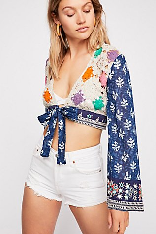 Tropical Hideout Top at Free People in Los Angeles, CA | Tuggl