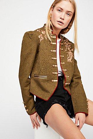 Lauren Band Jacket | Tuggl