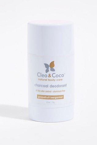 Cleo & Coco Charcoal Deodorant | Tuggl
