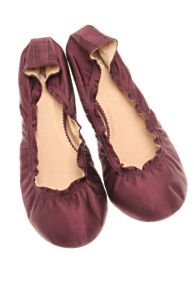 Free People Clothing Boutique > Jewel Toned Flats :  fashion shimmer shoes ballet