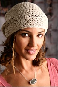 Free People Clothing Boutique > Starstitch Crochet Beret from freepeople.com
