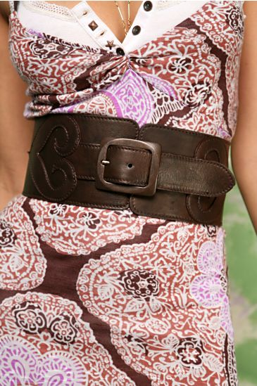 Free People Clothing Boutique > Queen of Hearts Corset Belt :  accessories retro cutout spring