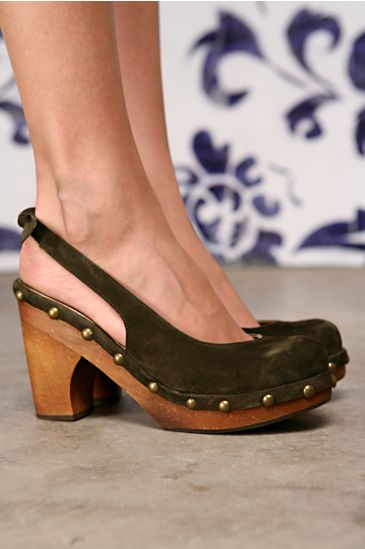 Free People Clothing Boutique > Studded Slingback Clog by Jeffrey Campbell from freepeople.com