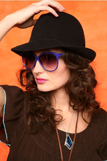 Free People Clothing Boutique > Bamboo Fedora by Kangol :  black fedora fedora bamboo free people