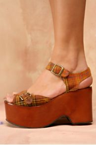 Free People Clothing Boutique > Plaid Prep Platform