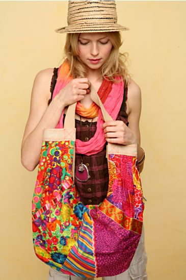 Free People Clothing Boutique > Hot Tropics Slouch Tote :  floral hot free bag