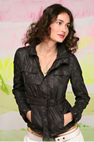 Belted Motorcycle Jacket
