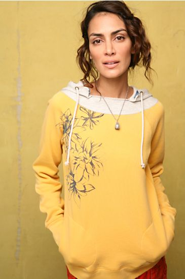 Free People Clothing Boutique > Relaxed Floral Pullover :  fleece sweatshirt pullover free people