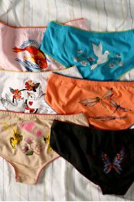 Free People Clothing Boutique > Graphic Lowrise Boy Panty :  lingerie underwear panty people