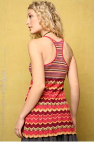 Free People Clothing Boutique > Dancing Chevron Tank