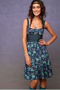 Free People Clothing Boutique > Cumberbund Dress :  floral cumberbund dress free