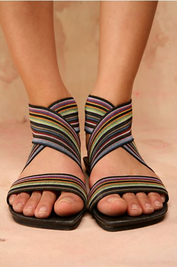 Free People Clothing Boutique > Fresh Mix Sandal :  spring summer elastic people vintage