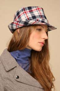 Free People Clothing Boutique > Flannel Jack Fedora :  fedora flannel hats plaid