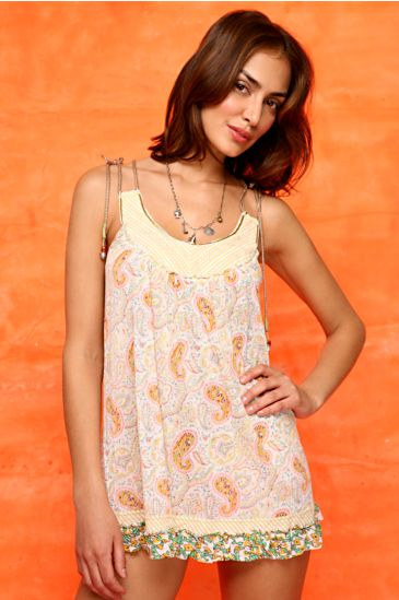 Free People Clothing Boutique > Peace Racerback Slip