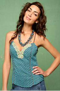 Free People Clothing Boutique > Sweetheart Tribal Tank :  tops design designer designer shirts