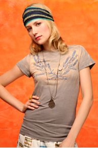 Free People Clothing Boutique > We The Free Wheat Tee :  short sleeves clothing faded womens