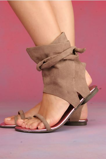 Free People Clothing Boutique > Rada Wrap Sandal :  luxe open toe womens apparel glam
