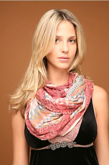Free People Clothing Boutique > Drifter Voile Mobius Scarf :  free people clothing free people scarf