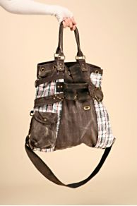 Free People Clothing Boutique > Train Hopper Satchel :  train hopper satchel removable strap brown adjustable strap