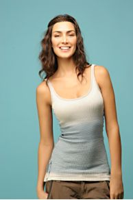 Free People Clothing Boutique > We The Free Vintage Waffle Tank :  light blue tank top knit womens