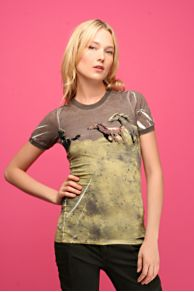 Free People Clothing Boutique > We The Free Olive Horses Tee