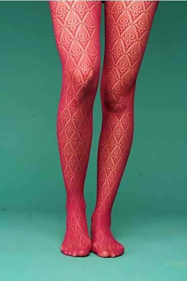 Free People Clothing Boutique > Diamond Crochet Tights from freepeople.com