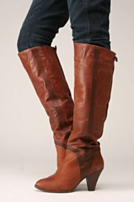 Free People Clothing Boutique > Farrah Boot by Jeffrey Campbell :  knee high boot leather jeffrey campbell